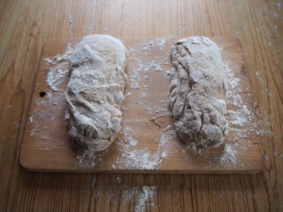 Brote vor dem Nachgehen